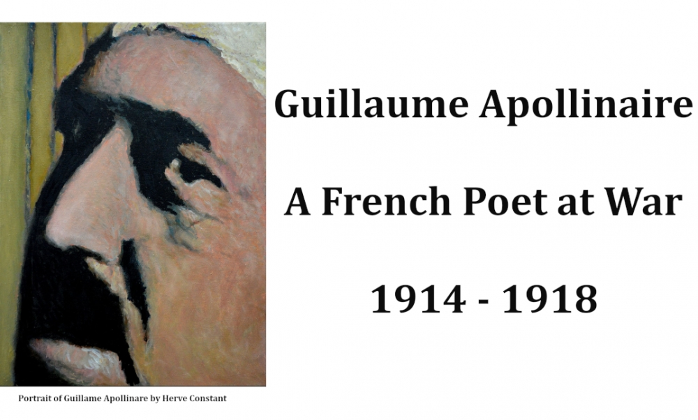The Rimbaud and Verlaine Foundation rend hommage à Apollinaire lors du Centenaire de l'Armistice