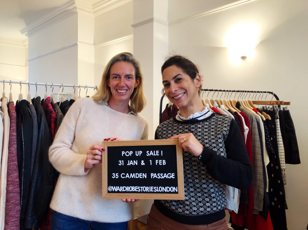 Wardrobe stories : Le Vinted de luxe de Sarah Williamson et Elodie Duval