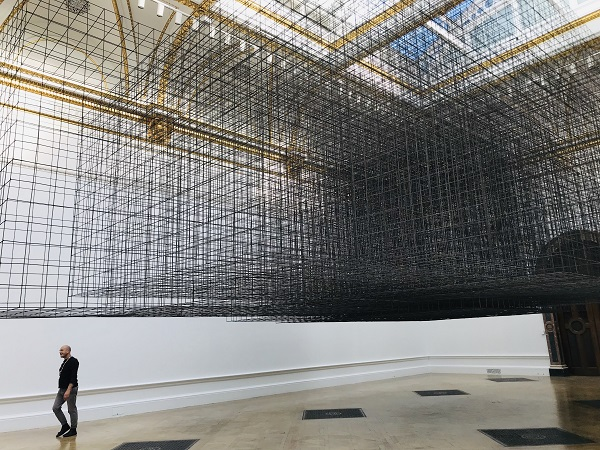 Antony Gormley expose à la Royal Academy of Arts en 2019