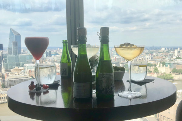 Les cocktails de l'Aqua Shard à Londres