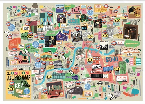 The London Music Map