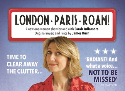 Sarah Tullamore revient avec son one-woman show London-Paris-Roam