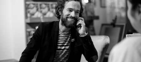 Romain Duris expose ses dessins à Londres