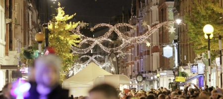 Ricky Wilson, invité star du Christmas Lights Switch on de Marylebone