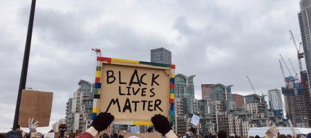 Manifestations Black Lives Matter à Londres ce week-end