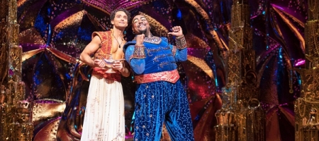 Aladdin the Musical : Agrabah survolté