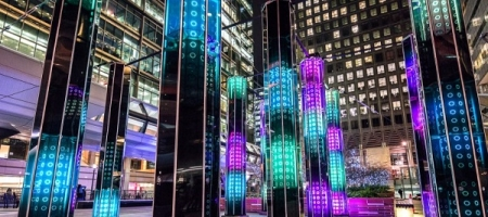 Canary Wharf Winter Lights: 30 installations spectaculaires à découvrir
