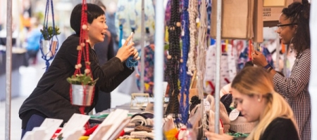 Canopy Market & Made in Arts London s'associent