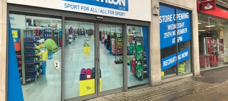 Decathlon ouvre à High Street Kensington