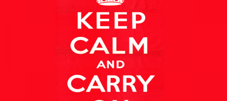 Brexit : Keep calm and carry on