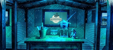 Le nouveau pop-up Frozen Island organisé par le Neighbourhood Cinema