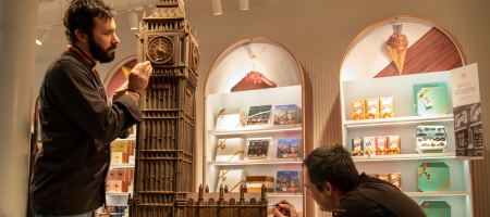 Le chocolatier belge Neuhaus ouvre sa boutique à St Pancras International