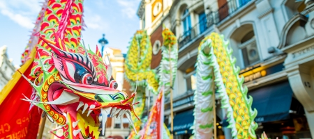 Le rat se faufile au Nouvel An chinois 2020