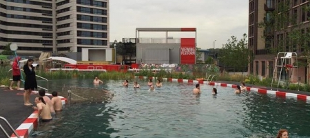 La piscine en plein air de King's Cross va fermer