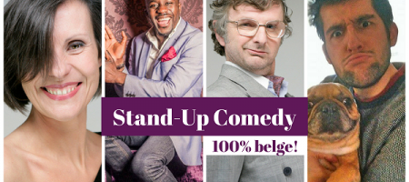 2 paires de tickets pour le Stand-Up Comedy 100% Belge