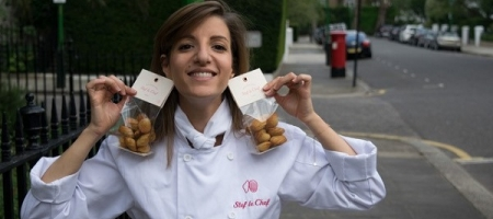 Les madeleines made in London de Stef le Chef