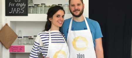 Zéro shop, le premier magasin sans emballage de Wimbledon