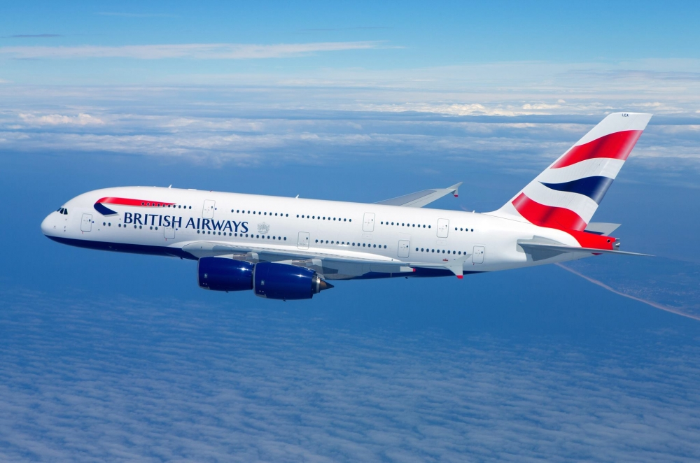 BRITISH AIRWAYS  PREND L'ACCENT DU SUD-OUEST