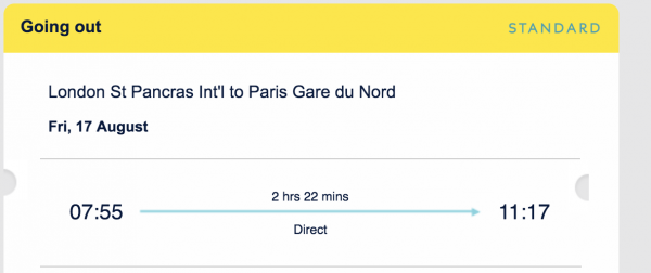 selling Eurostar tickets London to Paris 17th August - tickets for 2 adults +2 kids illustration