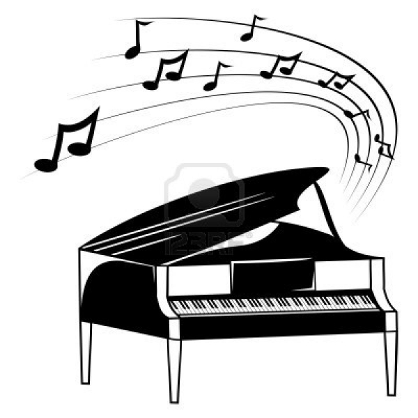 PIANO LESSONS illustration