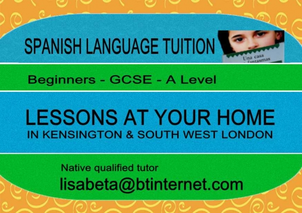 SPANISH PRIVATE TUITION Kensington - Chelsea - Fulham illustration
