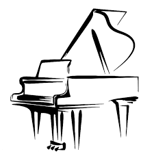 PIANO LESSONS ONLINE/HOME VISITS. COURS DE PIANO EN LIGNE/A DOMICILE illustration