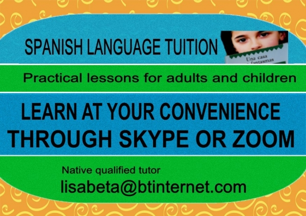 SPANISH PRIVATE TUITION Beginners - GCSE - A level illustration